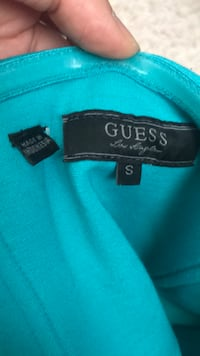 Green blue Guess dress size S CALGARY
