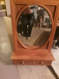 Oak Mirror with built in shelves  Cottage Grove, 55016