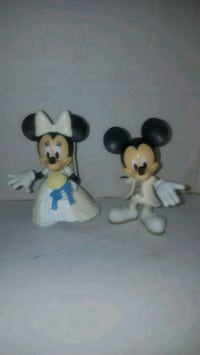 Figuras Mickey y Minnie bodas