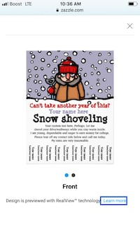 snow removal affordable for you