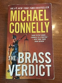 MICHAEL CONNELLY The Brass Verdict (en inglés) Madrid, 28020