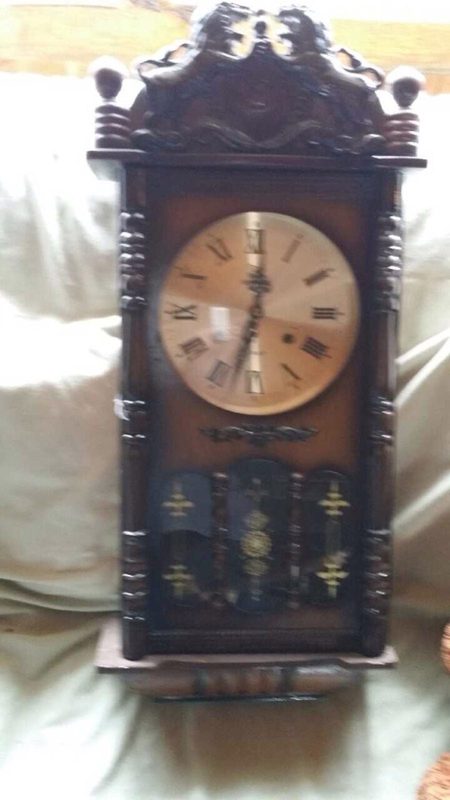Sony 31 day wall grandfather clock in kennerdell letgo 31 day wall grandfather clock 100 send more info amipublicfo Image collections