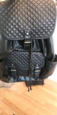 Black backpack $15 like new
