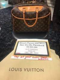 Authentic Louis Vuitton Handbag being listed from Mitzys Purses and More