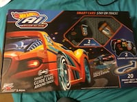Hot wheels AI used once all pieces in box