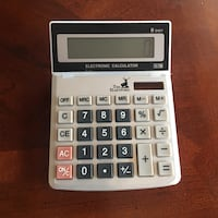 white and gray Casio calculator Toronto, M9A 4R7