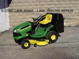 READ THE AD DESCRIPTION CAREFULLY BEFORE MESSAGING ME - RIDING LAWNMOWER  & LAWN TRACTOR REPAIR