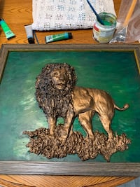 Hand crafted lion Prineville, 97754