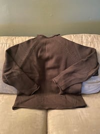 J. Crew Mens Cotton Roll-neck Sweater Size XL Brown New York, 10314