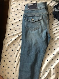American Eagle artist crop jeans size 4 New York, 11206