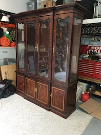China cabinet by Thomasville.  Sorry, do not ship. Upper Chichester, 19014