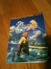 final fantasy x guide book