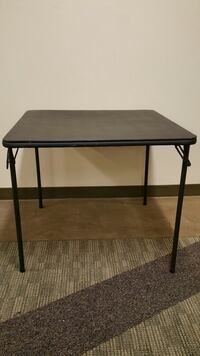 LARGE, SQUARE, Rather Heavy, VERY STURDY, PORTABLE FOLDING TABLE Arlington, 22204