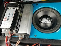 Mmats subwoofer and jl audio amp