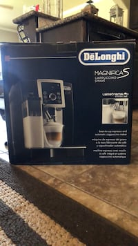 DeLonghi ECAM23260SB never opened or used. Sells for $800 brand new, selling this one for $650 brand new. Amarillo, 79119