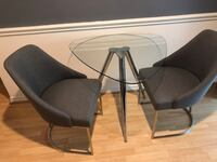 Z gallerie chairs and dining table Mc Lean, 22102
