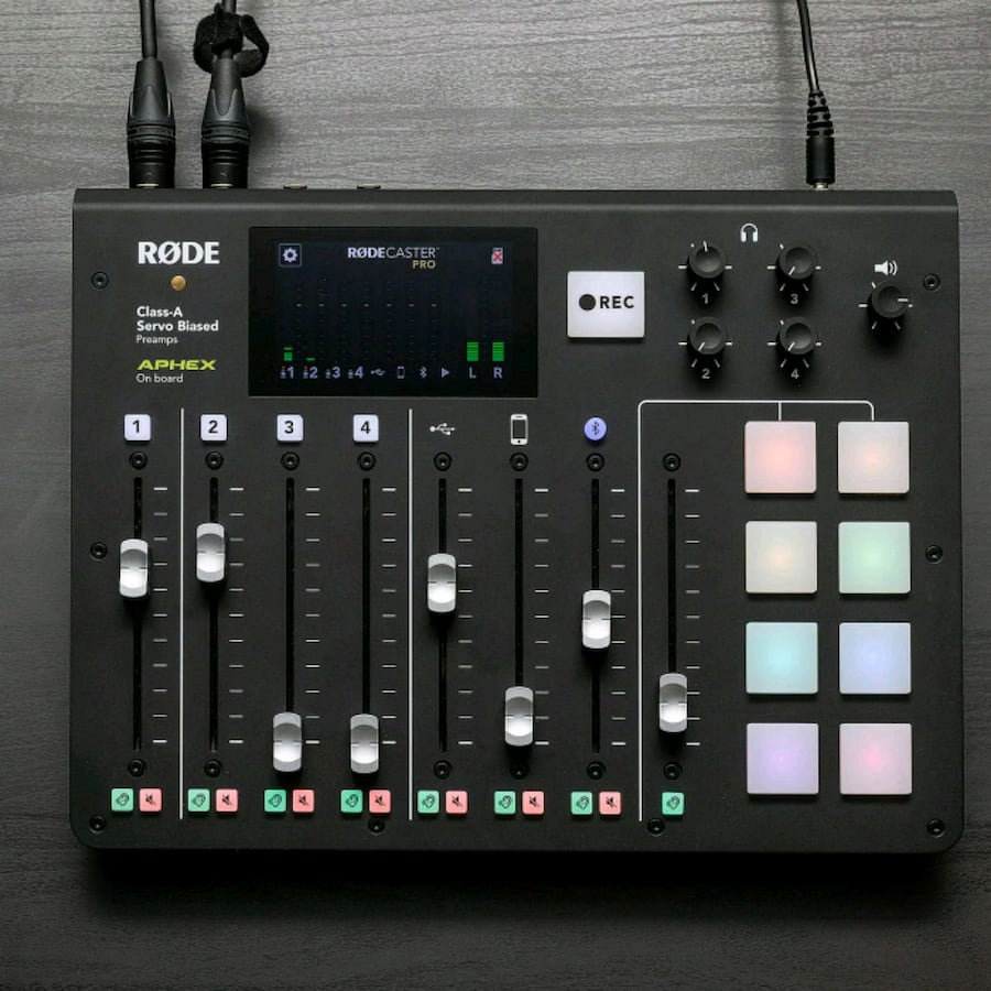 RODECaster Pro Podcast Production