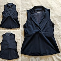 Lululemon Navy sculptured top size small