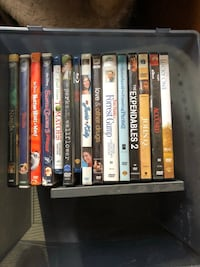 assorted-title DVD case lot Wethersfield, 06109
