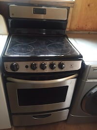 Stainless steel stove, Maytag washer and a Amanda dryer Toronto, M6B 2W6