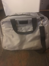 Grey bowling bag with over the shoulder strap