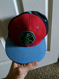 blue and red snapback cap Denver, 80211
