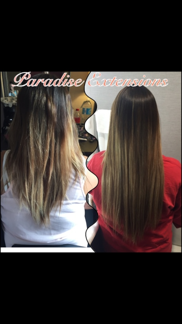 Used Hair Extensions Fusions Tape In Micro Beads Removal For