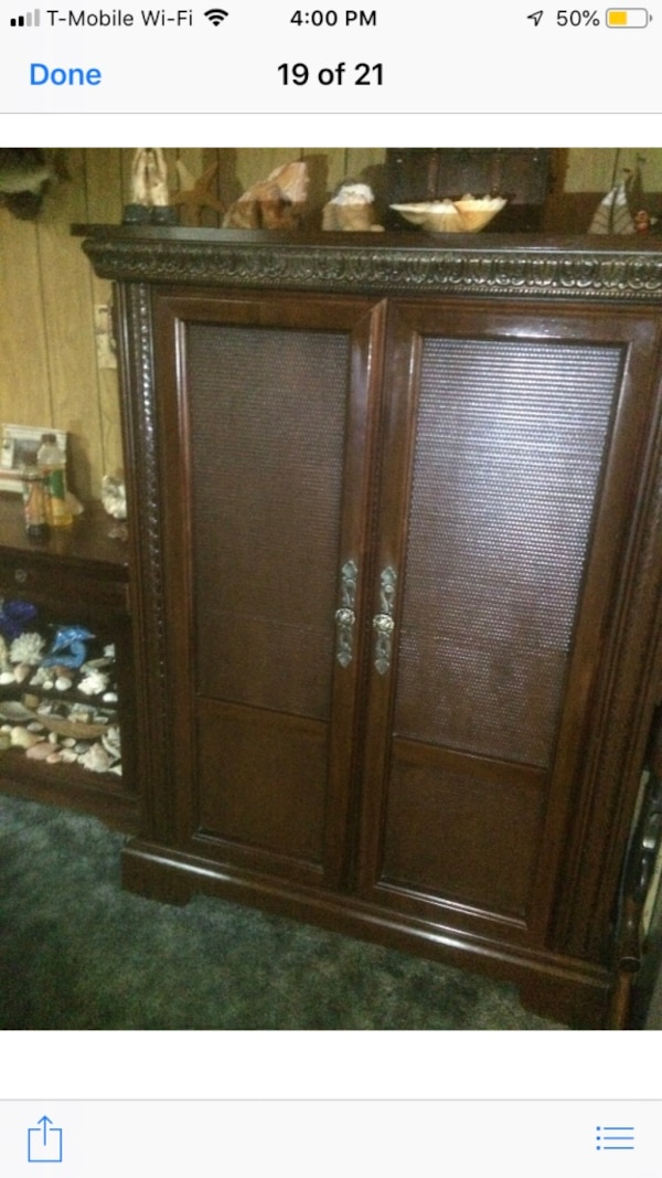 Large wooden armoire 0