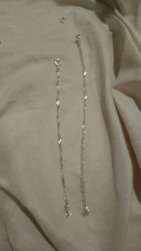 sterling silver necklace and matching bracelet Albuquerque, 87107