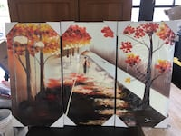 Brand New 3-Piece Painting (Walking together) San Jose, 95002