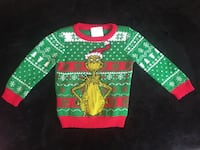 The Grinch Baby's Ugly Christmas Sweater 12M Goose Creek, 29445