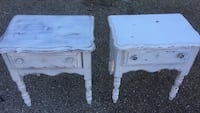 2 bedroom end tables  Englewood, 34223