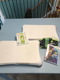 Wii balance boards, Wii fit plus, Zumba fitness 2