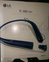 Dark blue LG Tone Pro bluetooth headset Chesapeake, 23321
