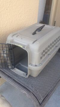 Small dog gray pet carrier Spring Hill, 34610