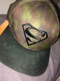 black and brown Superman close cap