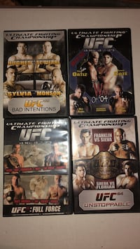 COLLECTION OF UFC DVDS NEW Littlestown, 17340