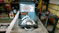8 inch Black and Decker saw extra blades, case Reisterstown