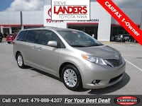 2017 Toyota Sienna XLE Rogers, 72758