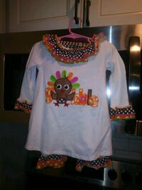 Size 2t thanksgiving outfits Suffolk County