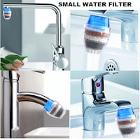 Kitchen faucet activated carbon water filter purification system Filtro de agua para su cocina y lavamanos Miami, 33144