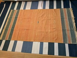 Two handwoven rugs 3x5
