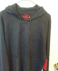 Mens York hoodie size extra large