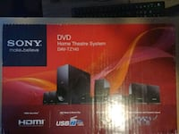Sony DVD home theatre system. Used slightly. Chesapeake, 23324