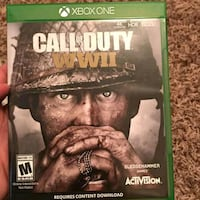 Call of duty ww2 xbox one  Falls Church, 22046