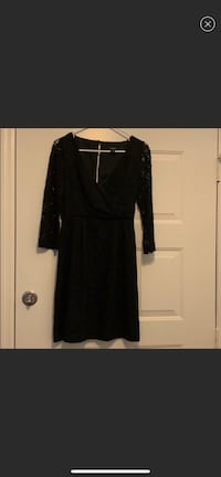 J Crew - Black v-neck long sleeve dress Orlando, 32837