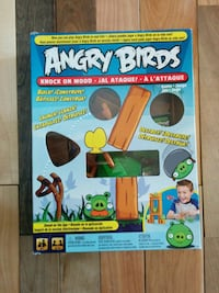 Angry Birds knock on wood toy box Clarence-Rockland, K0A 1E0