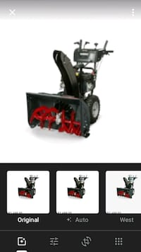 Briggs and Stratton snow blower