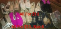 women's assorted pairs of shoes Torrance, 90504