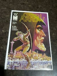 #1 Green Arrow comic book DC